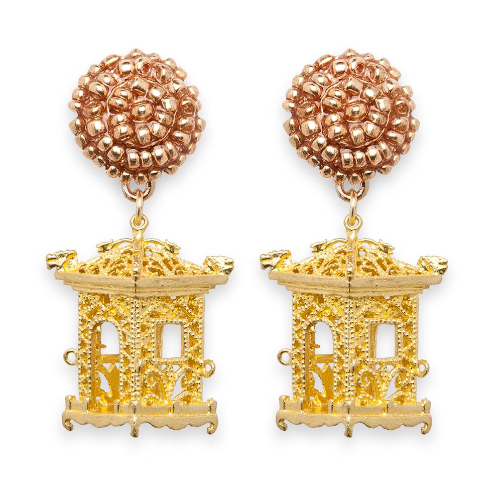 Pagoda Earrings Fornash