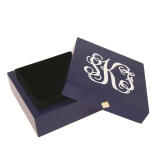 Monogrammed Bauble Box