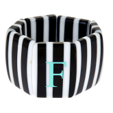 Monogrammed Two-Fruity Stripe Bracelet