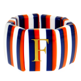 Monogrammed Three-Fruity Stripe Bracelet