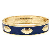 Enamel Football Bracelet