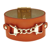 Saratoga Leather Bracelet