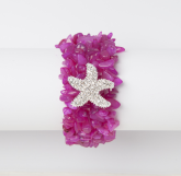 Rock Candy Starfish Bracelet