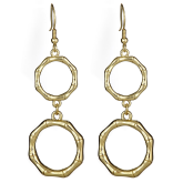 Double Georgetown Earrings - LAST CHANCE