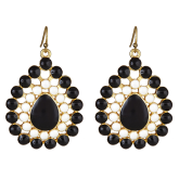Two-Tone Natalie Earrings - LAST CHANCE