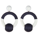 Two-tone Social Earrings