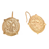 Calypso Coin Earrings