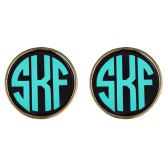 Monogrammed Earrings - LAST CHANCE