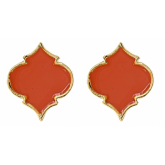 Enamel Spade Earrings