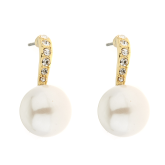 Pearl & Stone Earrings