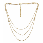 Three-Strand Tessa Necklace
