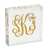 Customized Acrylic Square Block