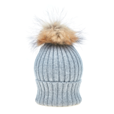 Vail Hat and Pom-Pom Set