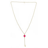 Long Enamel Stephanie Necklace