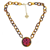 Monogrammed Darby Necklace