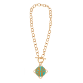 Monogrammed Short Madeline Necklace