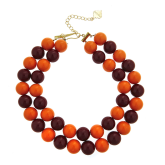 Two-Tone Candy Necklace