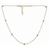 Short Enamel Tessa Necklace