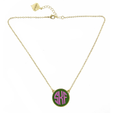 Monogrammed Baby Soft Chain Necklace