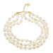 Pearl Bead Nugget Necklace