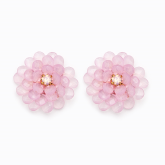 Bliss Earrings - Light Pink