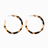 Large Paxton Hoop Earrings