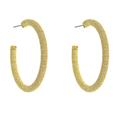 Large Taylor Hoop Earrings