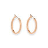 Small Burke Hoop Earrings
