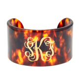 Monogrammed Large Connecticut Cuff