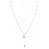 Long Cut-Out Stephanie Necklace