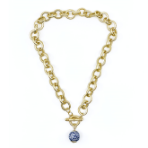 China Blue Bella Necklace