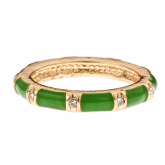 Green Rainbow Ring